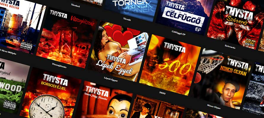 8 új Thysta dal Youtube-on | ThystaWorld